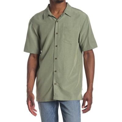 ジャックオーニール メンズ シャツ トップス Shadowvale Solid Regular Fit Shirt ARMY