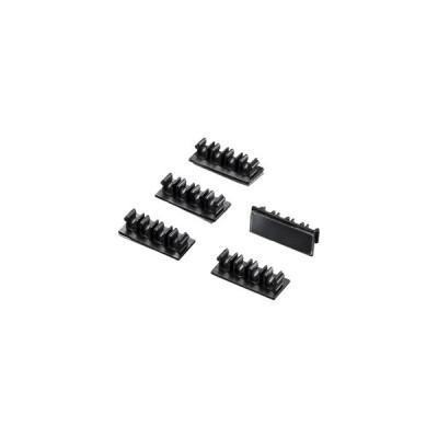 サンワサプライ ケーブル固定クリップ(ブラック・5個入り) CA-511 CA-511 [A011216]