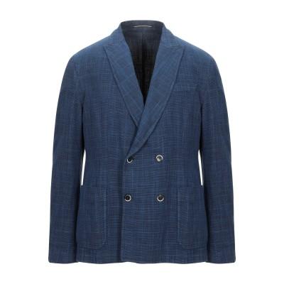 ローダ RODA テーラードジャケット ブルー 54 コットン 70% / リネン 30% テーラードジャケット