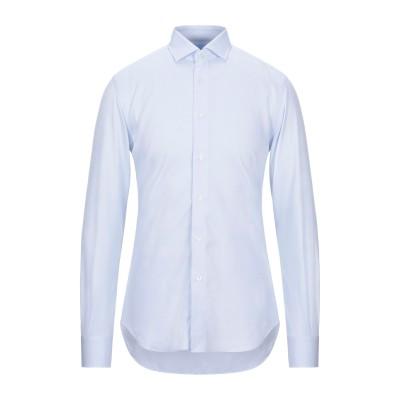 XACUS シャツ スカイブルー 38 コットン 100% シャツ