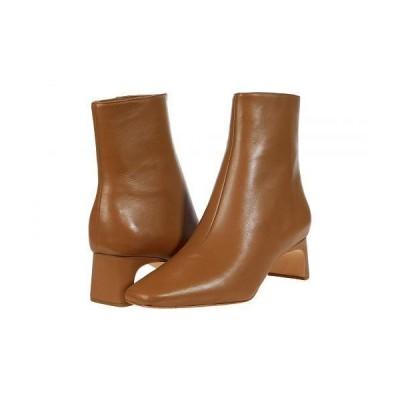Loeffler Randall ロフラーランドール レディース 女性用 シューズ 靴 ブーツ アンクル ショートブーツ Lennon Mid-Heel Square Toe Ankle Boots - Tabac