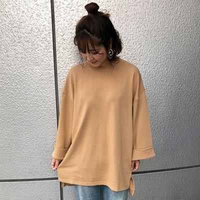 ミージェーン me Jane ミニ裏毛長袖PO (ベージュ)