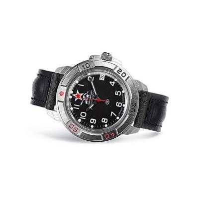 Vostok ボストーク Komandirskie 436306 Tank Commander Russian Military Mechanical 腕時計   WR 20 m   Fashion   Business   Casual Men's Watches