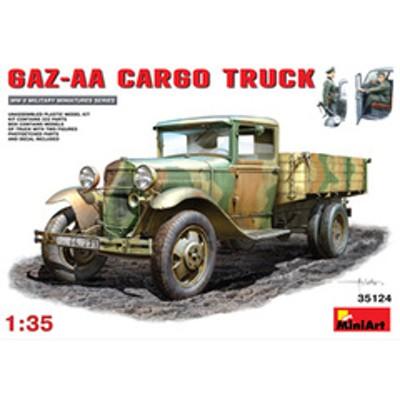 ミニアート 1/35 GAZ-AAカーゴトラック【MA35124】 プラモデル MA35124 GAZ-AAカーゴトラック 【返品種別B】