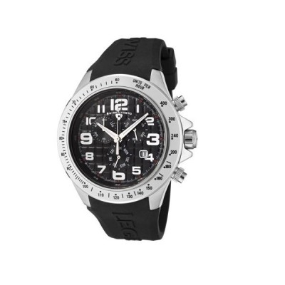 Swiss Legend Eograph Mens Black Silicone Chronograph Date Watch SL-30041-01 並行輸入品