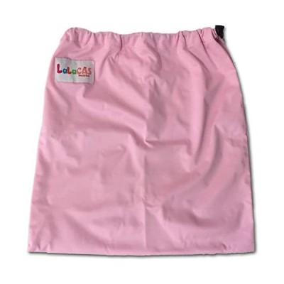 LaLaCAS(ララキャス)-防水布おむつ袋-ウォッシャブル-留め具あり-PINK