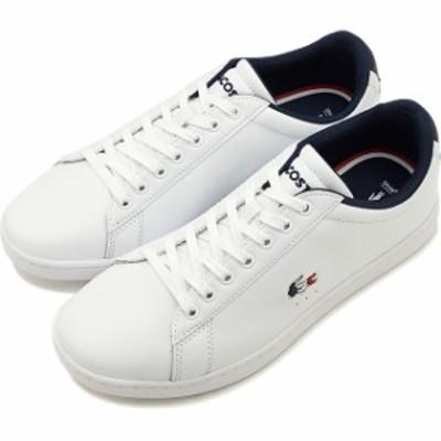 ラコステ LACOSTE レディース カーナビー エヴォ W CARNABY EVO TRI 1 スニーカー 靴 WHT/NVY/RED ホワイト系 [SFA0048-407 SS20]【yen30