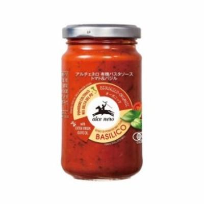 アルチェネロ 有機パスタソース トマト&バジル 200g 12個セット C3-29