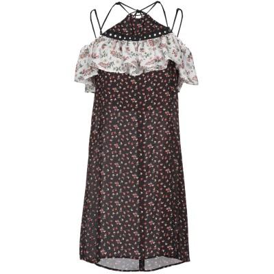 GAëLLE Paris ミニワンピース&ドレス ブラック 42 ポリエステル 100% ミニワンピース&ドレス