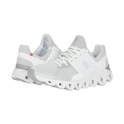 On オン レディース 女性用 シューズ 靴 スニーカー 運動靴 Cloudswift - Glacier/White 1