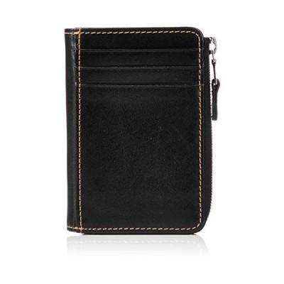 [ホワイトハウスコックス] S1905 SMALL COIN PURSE PASS CASE 小銭入れ BLACK/CAMMELLO [並行