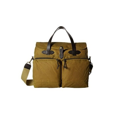 新品 並行輸入品Filson 24 Hour Tin Briefcase Dark Tan One Size
