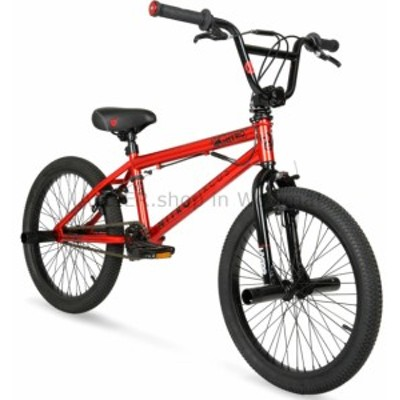 BMX 男の子フリースタイルBmxバイクレッドスチールフレームフットペグ自転車20インチスタント新  Boys Freestyle