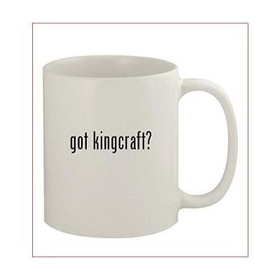 got kingcraft? - 11oz Ceramic White Coffee Mug, White