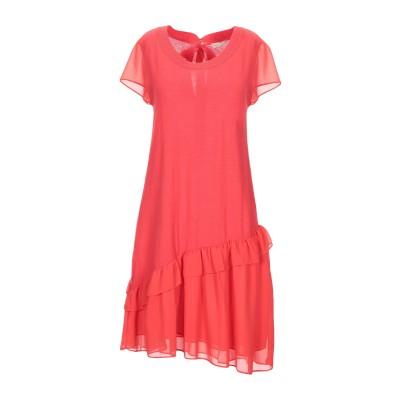 SCEE by TWINSET ミニワンピース&ドレス レッド L コットン 98% / ポリウレタン 2% / ポリエステル ミニワンピース&ドレス