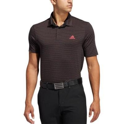 アディダス メンズ シャツ トップス adidas Men's Ultimate365 Space Dye Stripe Golf Polo