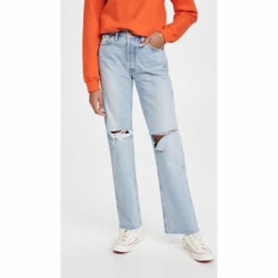 リダン RE/DONE レディース ジーンズ・デニム ボトムス・パンツ 90s High Rise Loose Jeans Breezy Indigo