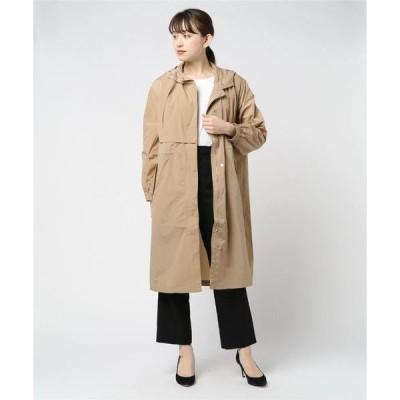 アウター Hooded Nylon Coat