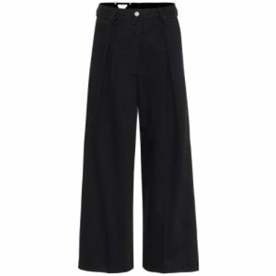 ドリス ヴァン ノッテン Dries Van Noten レディース ジーンズ・デニム ボトムス・パンツ High-rise wide-leg cropped jeans Black