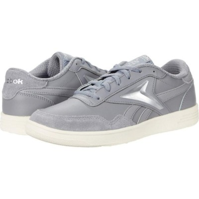 リーボック Reebok レディース スニーカー シューズ・靴 Club Memt Pure Grey/Chalk/Silver Metallic