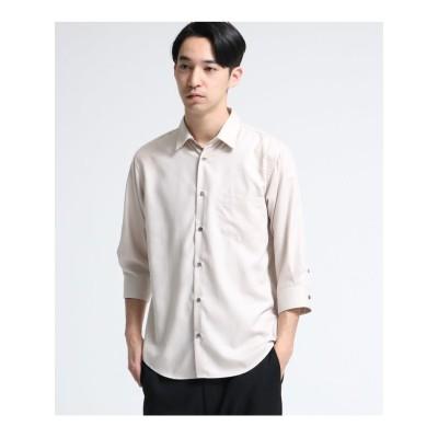 マイクロスパンレギュラーシャツ(7分袖)
