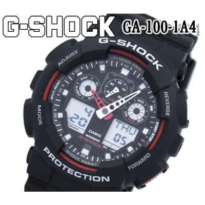 あすつく 送料無料 カシオ CASIOG-SHOCK Gショック ブルー カシオ デジタル メンズ 腕時計 NEWコンビネーション ga-100-1a4