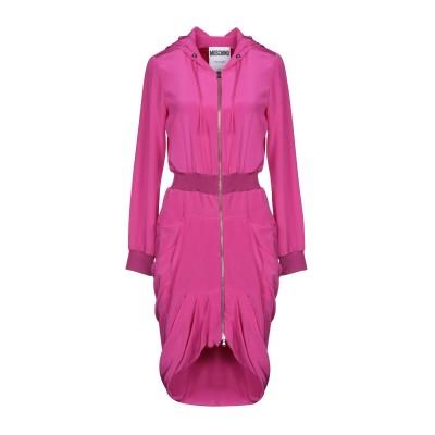 モスキーノ MOSCHINO ミニワンピース&ドレス フューシャ 40 シルク 100% ミニワンピース&ドレス
