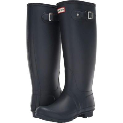 ハンター Hunter レディース レインシューズ・長靴 シューズ・靴 Original Tall Wide Shaft Rain Boots Navy