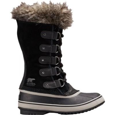 ソレル SOREL レディース ブーツ ウインターブーツ シューズ・靴 Joan of Arctic Insulated Waterproof Winter Boots Black/Quarry