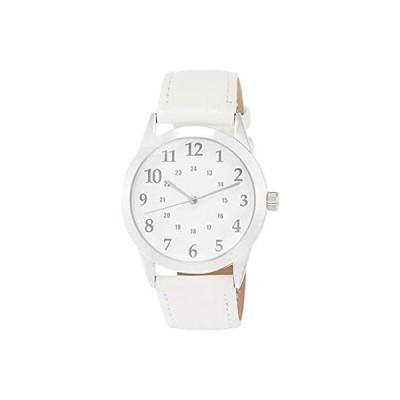 [フィールドワーク] 腕時計 アナログ パッション 革ベルト CL02-1 レディース ホワイト