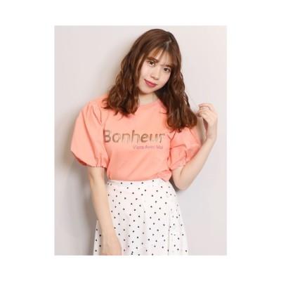 dazzlin BonheuruTシャツ ピンク