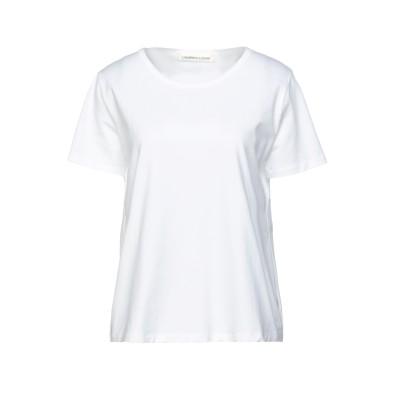 ランベルト・ロザーニ LAMBERTO LOSANI T シャツ ホワイト M コットン 94% / ポリウレタン 6% T シャツ