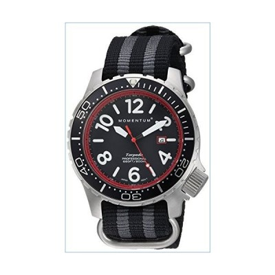 Men's Sports Watch | Torpedo Blast Dive Watch by Momentum | Stainless Steel Watches for Men | Analog Watch with Japanese Movement | Water Resistant