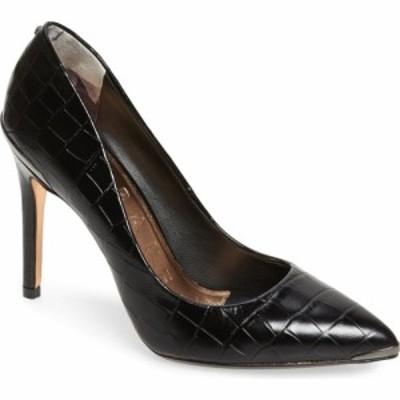 テッドベーカー TED BAKER LONDON レディース パンプス シューズ・靴 Izibelc Pointed Toe Pump Black Leather
