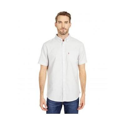 Levi's(R) リーバイス メンズ 男性用 ファッション ボタンシャツ Rowney Short Sleeve Woven - Marshmallow