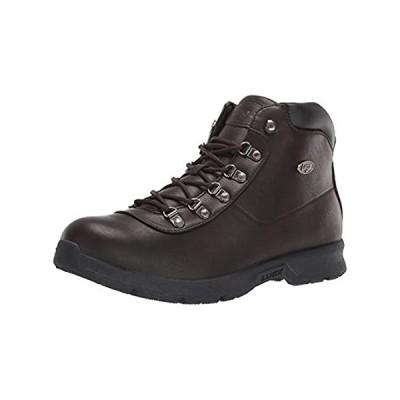 Lugz Men's Plank Chukka Boot, Dark Brown/Black, 6.5 D US