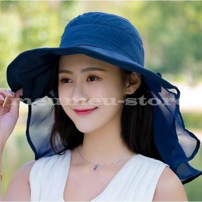 帽子 レディース つば広 ハット 無地 リボン 女性 婦人 日よけ 紫外線対策 日焼け防止 日焼け対策 お出かけ 外出 おしゃれ