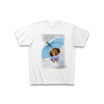 村松誠 ビッグコミックオリジナル2020年6月20日号「傘と子犬」 Tシャツ(ホワイト)