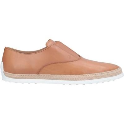 トッズ TOD'S メンズ ローファー シューズ・靴 loafers Tan