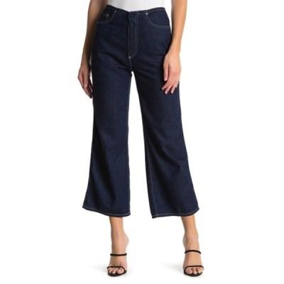 エージー レディース デニムパンツ ボトムス Etta Wide Leg Jeans  MIDNIGHT SURGE