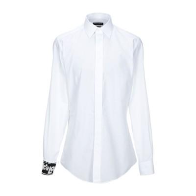 ドルチェ & ガッバーナ DOLCE & GABBANA シャツ ホワイト 38 コットン 100% シャツ