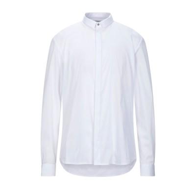 OFFICINA 36 シャツ ホワイト M コットン 72% / ナイロン 26% / ポリウレタン 2% シャツ
