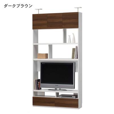 突っ張り壁面薄型テレビ台