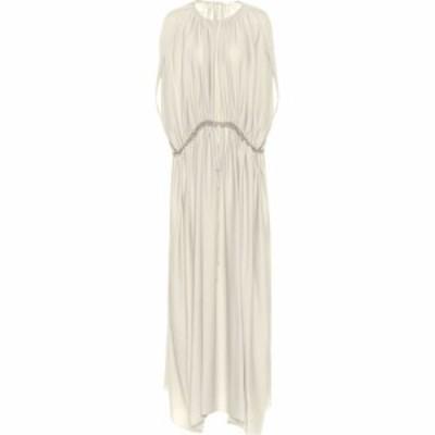 ザ ロウ The Row レディース ワンピース ワンピース・ドレス Regina silk dress Opal Grey