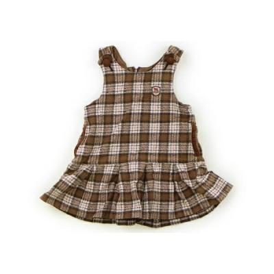 ミキハウス mikiHOUSE ジャンパースカート 80サイズ 女の子 子供服 ベビー服 キッズ
