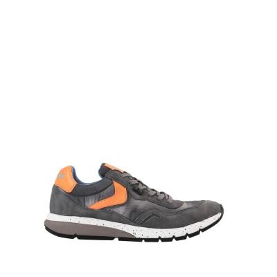 VOILE BLANCHE スニーカー&テニスシューズ(ローカット) 鉛色 44 革 / 紡績繊維 スニーカー&テニスシューズ(ローカット)