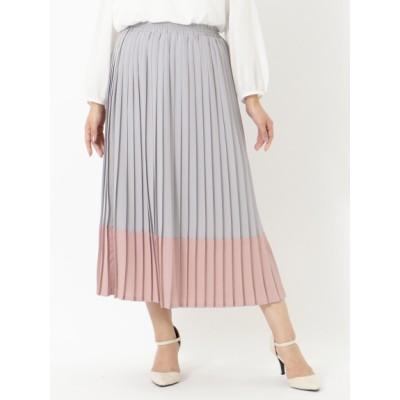【大きいサイズ】【タイムセール中!9/25(金)10:59am迄】プリーツスカート 大きいサイズ スカート レディース