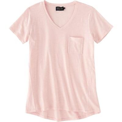 ペンドルトン Pendleton レディース Tシャツ ポケット Vネック トップス V-Neck Pocket Cotton Tee Chintz Rose