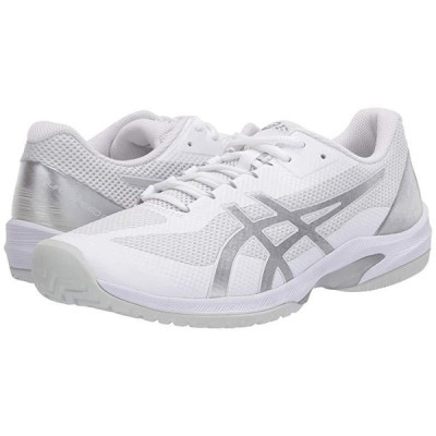 アシックス Court Speed FF メンズ スニーカー 靴 シューズ White/Pure Silver
