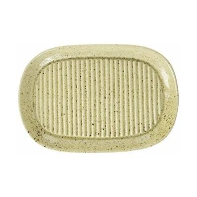 カネセ ヘルシー油切皿 (益子釉) G-013